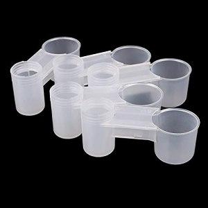 kangzhiyuan Mangeoire à oiseaux 5 pièces de mangeoire à oiseaux avec bouteille d'eau pour abreuvoir pour animaux de compagnie