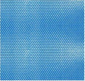 Kikoshop Bâche de protection pour piscine en polyéthylène – Film isolant à bulles – Bâche solaire – Protection UV – Accessoire de piscine pour intérieur et extérieur – 190 x 200 m