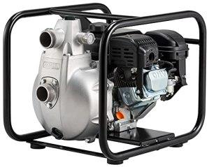 KOSHIN Pompe à essence haute pression 2″ SERH-50 V, hauteur de refoulement 80 m, fabriquée au Japon.
