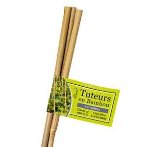 La cordeline Tuteurs Bambou LTB150-20, Naturel