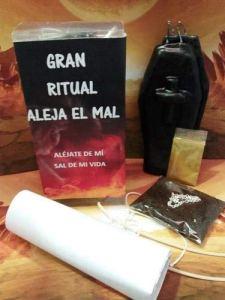 LCL Bougies Rituel ALEJA EL Mal