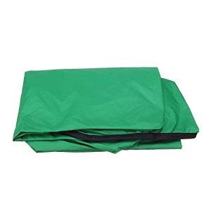 LFOZ Été à l'étanche Top Cover Top Couverture Auvent Taille de Remplacement pour Jardin Courtyard Chaise Swing Outdoor Swing Hamall Canopy Tableau Swing Chair de Store (Color : Green)