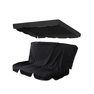 LFOZ Patio Swing Cover Set Swing Canopy Swing Couvercle de Remplacement Oxford Tissu imperméable Porche Anti-poussière pour Le siège de Jardin (Color : B)