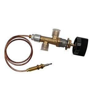 MENSI Kit de soupape de contrôle de sécurité pour cheminée au gaz propane GPL basse pression
