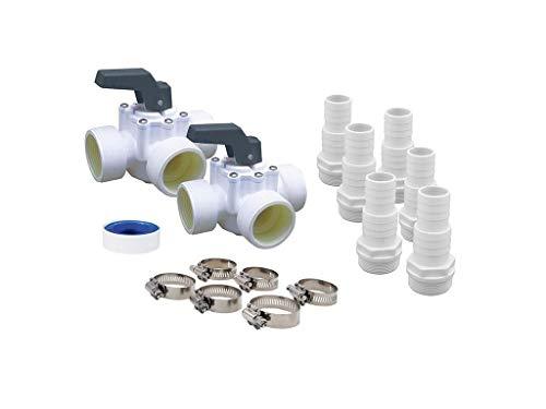 Nortland Ubbink Kit by-Pass Pompe à Chaleur Piscine HEATERMAX Compact