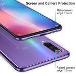 Oihxse Coque pour Realme XT/K5/X2/XT 730G, Etui en Transparente Silicone TPU 3D Protection Bumper Ultra Mince Cristal Housse avec Motif Fille D'Ete Mer Anti Choc Cover (A10)