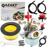 QAZAKY Kit carburateur + filtre à air 30604 30727 compatible avec Tecumseh 631921 631070 631070A 631074 631245 631820 632284 H25 H30 H35 H40 motoculteur Générateur souffleuse à neige