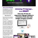 SmartSign2go Lite Digital Signage Google Chromebit Media Player avec logiciel sur Cloud facile à utiliser (2 semaines d'essai gratuit)