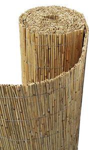 Sodipa Canisse paillon en Bambou Non pelé 2 x 5 m