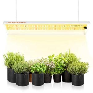Spider Farmer SF300 LED Horticole Lampe Horticole à spectre complet Lampe de Croissance Planteavec 192 Leds