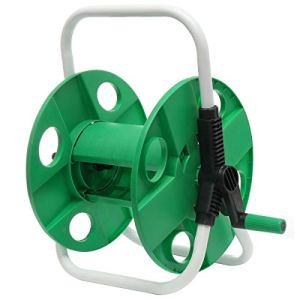 Stockage Rotating jardin Dévidoir eau 10-45M Dévidoir Portable panier tuyau d'eau