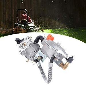 T-Day Ensemble de carburateur, kit de carburateur, kit de Remplacement de carburateur adapté à l'outil de Jardinage de pièces de tronçonneuse Honda GX160 2KW 168F