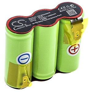 TECHTEK Batterie remplace 70845 055, pour BF13806 801527, pour BS45 Compatible avec [Wolf Garten] Grass Shears Accu 45 Serie B-D, Rasenschere