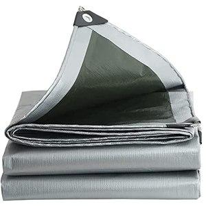Toile Imperméable À La Pluie en Bâche PE, Bâche De Qualité Supérieure pour Camping en Plein Air, Épaisseur 0,32 Mm, Feuille De Bâche 160 G/m2