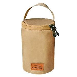 Ulapithi Sac de transport pour réservoir de gaz pour camping, sac de protection d'extérieur avec poignée résistante, fermeture éclair