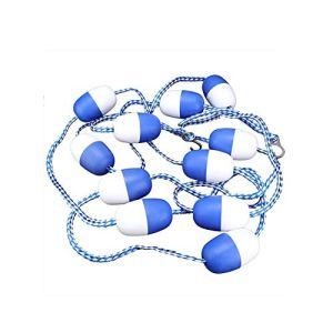 U/N Eastbuy Safety Float Lines – 5m Piscine Safety Divider Rope Floating Rope Lane Line Équipement De Piscine (11 Balles)