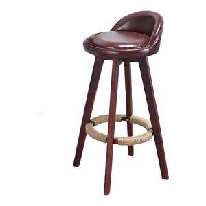 WENYA Chaises / tabourets, Bar à bois massif Chaise hautes tabouret, chaise de bar Chaise de réception Chaise ménagère chaise haute tabouret, chaise haute rétro simple tabouret de bar, adulte à la mai