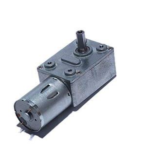 WSF-DIANJI, Moteur de réduction de 1PC 6V de 1PC 6V, motoré à orifice de turbo haut de gamme pour machine à nicheuse à capuche d'équipement intelligent (Couleur : 34 RPM, Taille : 6V)
