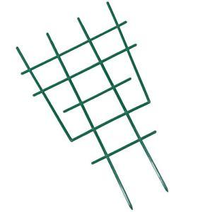 Yardwe 5 Pcs Support pour Les Plantes Cage Usine De Fer Treillis Support Métallique Plante Grimpante Titulaire Rack Panneaux Décoratifs pour Le Jardin Plantes