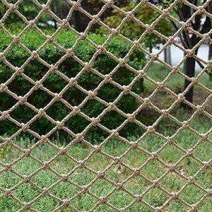 YSZGUABQ air de Jeux extérieur Escalade Filet Corde Sturdy Jeux Exterieur Adulte Filet Escalade Escalade Enfant Corde à Filet Escalade Enfant (Maille : 10cm)(Size:1.5X2m/4.9X6.6ft,Color:Rope: 10mm)