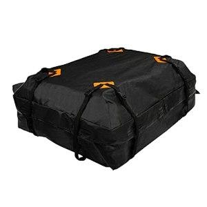 Coffre de toit pour voiture, tissu Oxford 600D – Pliable – Avec tapis antidérapant – Pour les voyages et le transport de bagages.