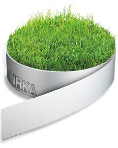 IRKA Bord de pelouse jardin 15cm x 10m x 1mm Bordure de lit Alu jardin