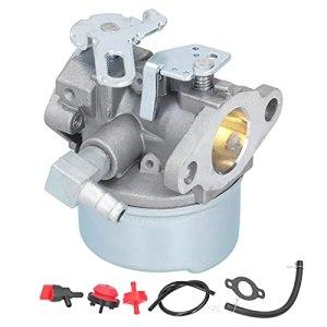 Jeu de Carburateurs, Jeu de Joints de Papier Filtre de Tuyau de Carburant de Carburateur pour Tecumseh 5HP pour MTD 632107A 632107 640084 640084A