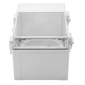 KUIDAMOS Boîte de jonction, Boîte de jonction étanche résistante aux Chocs Facile à Installer et à Utiliser pour Boîte de jonction pour boîte de Connexion électrique
