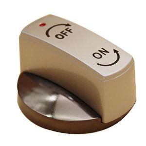 MENSI Bouton de contrôle de température Universel en métal avec Tige de 8 mm
