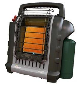 Mr. Heater F232017 MH9BXRV Buddy Chauffage radiant portable d'intérieur Gris 4 000-9 000 BTU