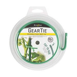 Nite Ize Cravate unisexe réutilisable en mousse, 6,1 m, vert, 6,1 m