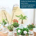 01 Lampe de Plante, Lampe de Culture de Plante, lumière Jaune 45W pour jardiniers Professionnels Culture de légumes Fleurs Plantes en Pot