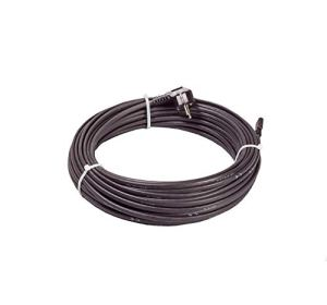 Câble chauffant antigel autolimitant avec thermostat 15 W/m – 18 m