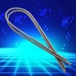 Fil de bobine d'élément chauffant, fil de haute résistance résistant aux hautes températures 1500W pour l'équipement de climatisation de chauffage de moufle