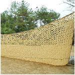 Filet De Camouflage Auvent Beige Militaire Camouflage Maille écran Solaire Terrasse Net Jardin Ombre Auvent Extérieur Tissu Voile Décoration Extérieure Toit Voiture Couverture Camping Enf(Size:4x6m)