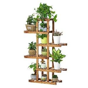 HFZY Stand de Fleur de Bambou 6 Couches de jardinière de Rangement de rangée de Rangement de Rangement de Rangement pour Le Salon de Bureau décoration de Jardin