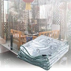 Housse de Pluie Étanche BâChe de Protection Jardin Imperméable Tissu En Plastique Dégager BâChe Polyvalente Camping Sol Couverture Végétale Canopée Housse Anti-pluie ( Color : 0.4mm , Size : 8x10m )