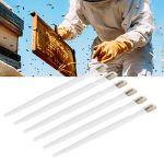 LIUTT 6 pièces Outil de grattage de Miel d'abeille grattoir à pulpe en Plastique Portable équipements d'apiculture kit d'apiculture