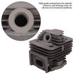 NATRUSS Alliage d'aluminium à Performances Stables à 2 Temps pour Cylindre de Tondeuse 40-5/44-5/430/520, Piston, pour Tondeuse à Distance