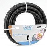 Oase Spiralschlauch Schwarz 1 1/2″, 5 m Tuyau en Spirale Noir