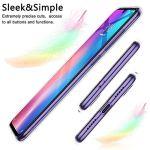 Oihxse Coque pour Realme XT/K5/X2/XT 730G, Etui en Transparente Silicone TPU 3D Protection Bumper Ultra Mince Cristal Housse avec Motif Fille D'Ete Mer Anti Choc Cover (A8)