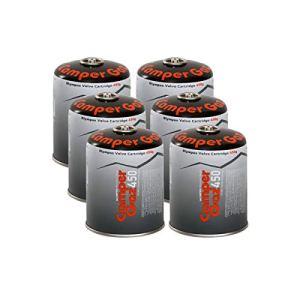 Pack de 6 Cartouches gaz Butane/Propane MIX 450gr CAMPER GAZ Bouteille de gaz camping Réchauds Barbecues Appareils à gaz