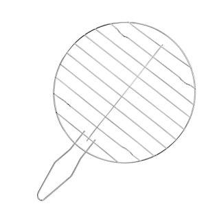Panier à Griller, Panier à Griller en Acier Inoxydable 35×23,5×1,5 cm, Gril de Barbecue Lavable de Forme Ronde