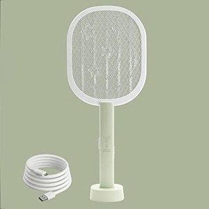 QQWJSH Tapette à moustiques électrique Tueur de moustiques Deux-en-Un Batterie au Lithium Rechargeable de ménage Super fabriquée piège à moustiques sûr et Durable