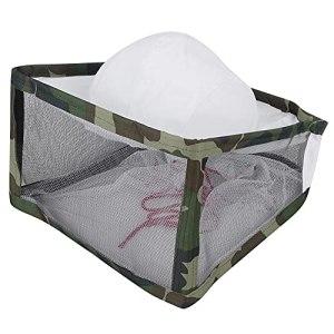 Tomantery Chapeau de Filet de Protection, équipements d'apiculteur Chapeau d'apiculture Protection complète Chapeau de Voile d'apiculture Matériel en Coton pour Apiculteur