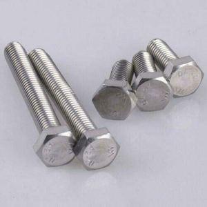 Vis à tête hexagonale M10 DIN933 en acier inoxydable A2 V2A