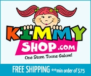 Kimmy Shop Canadian character merchandise free shipping on orders over $75