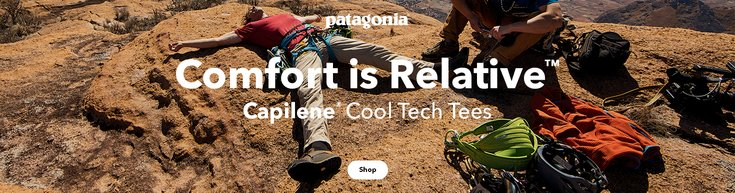 outdoor gear from patagonia