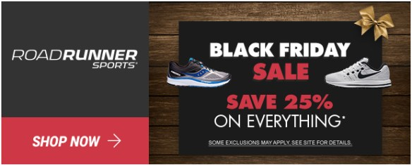 431923734340ca Road Runner Sports is running a Pre-Black Friday SALE starting today  11 22-11 23. For two days only