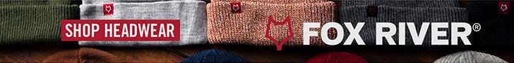 fox river socks and headwear